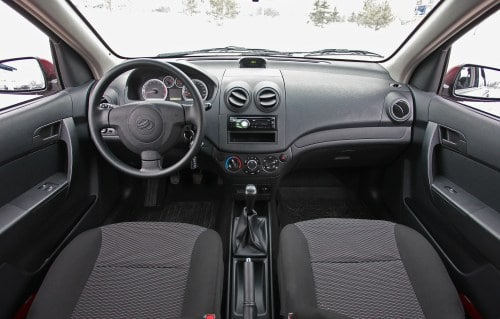Технические характеристики Chevrolet Aveo