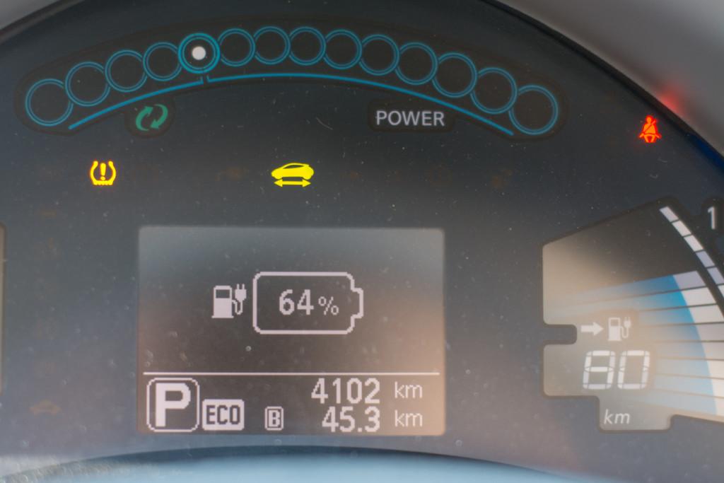 Nissan Leaf 2015 - Computer