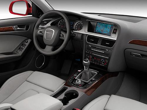 Audi A4 inside
