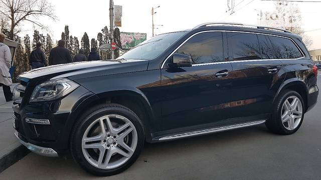 аренда автомобилея Mercedes GL 350 AMG в Одессе
