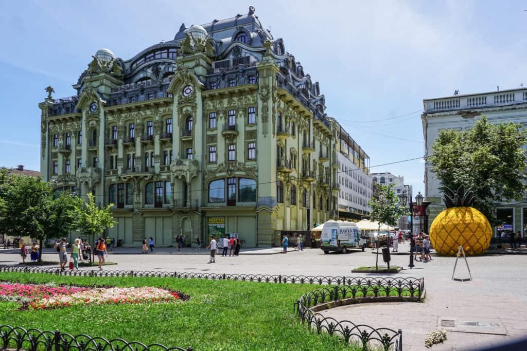 Места для прогулки в Одессе